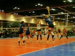 #7 is my daughter, Christine. WE officially have no life outside of volleyball