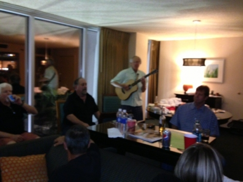 Acoustic Music and Fun in the Hospitality Room - Saturday Night Live!